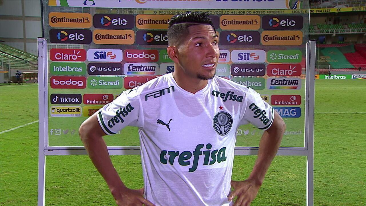 Luiz Adriano e Rony falam sobre a classificação do Palmeiras à final da Copa do Brasil