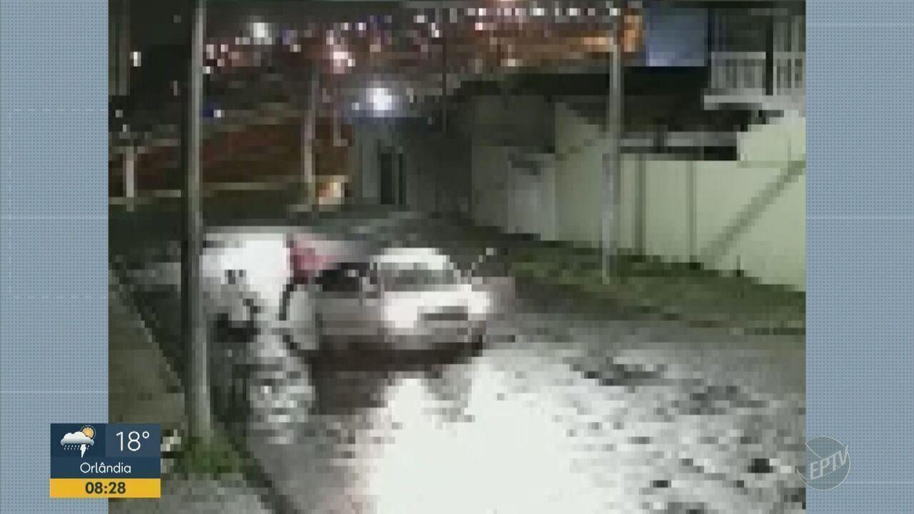 Homem agride mulher em rua de Hortolândia