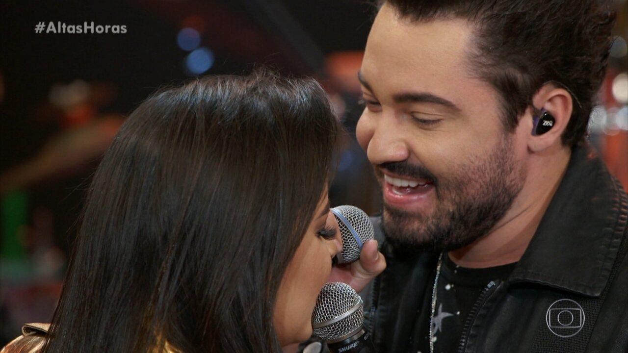 Serginho comenta a relação entre Fernando e Maiara