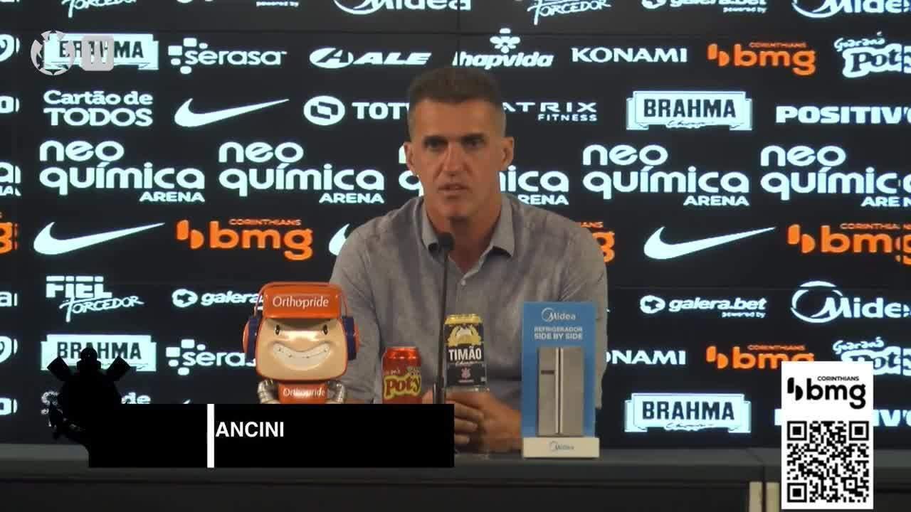 Veja a coletiva de Mancini após a goleada em cima do Fluminense