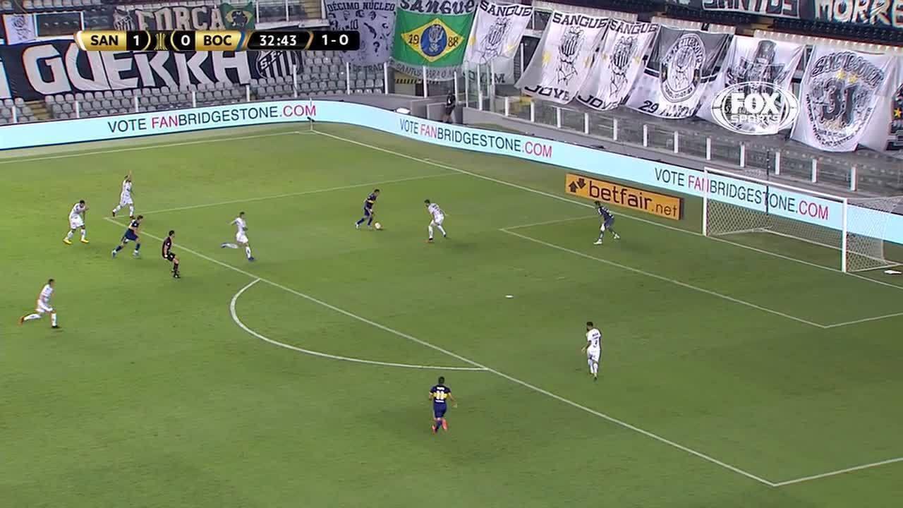 Melhores momentos de Santos 3 x 0 Boca Juniors, pelas semifinais da Libertadores