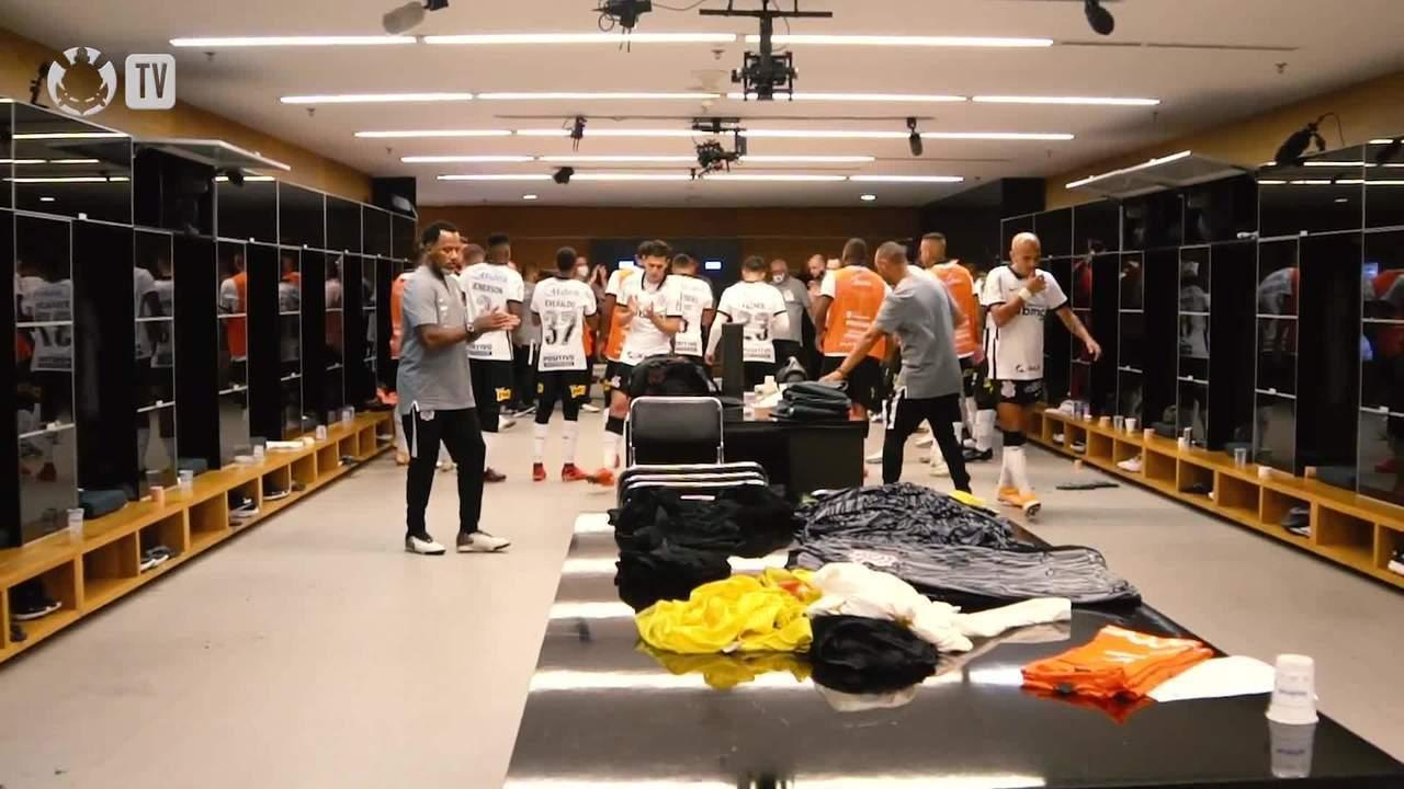 Confira os bastidores da goleada do Corinthians sobre o Fluminense