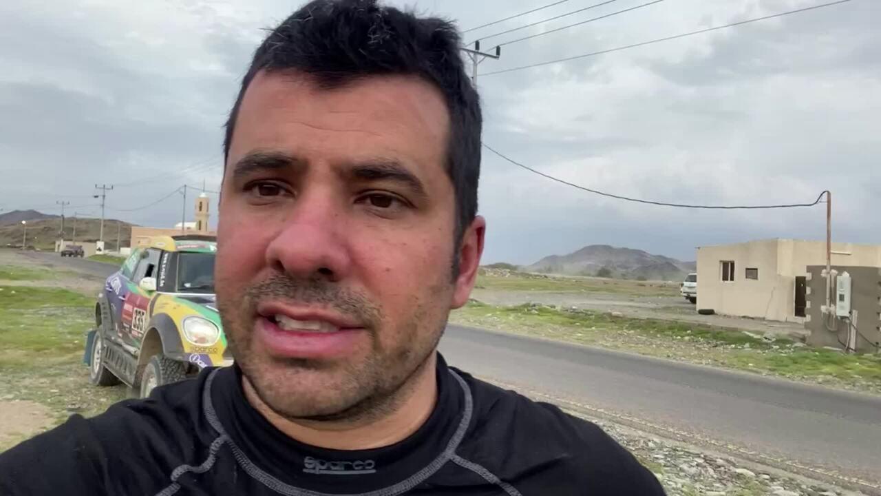 VOANDO BAIXO: Youssef Haddad fala sobre o penúltimo dia do Rally Dakar