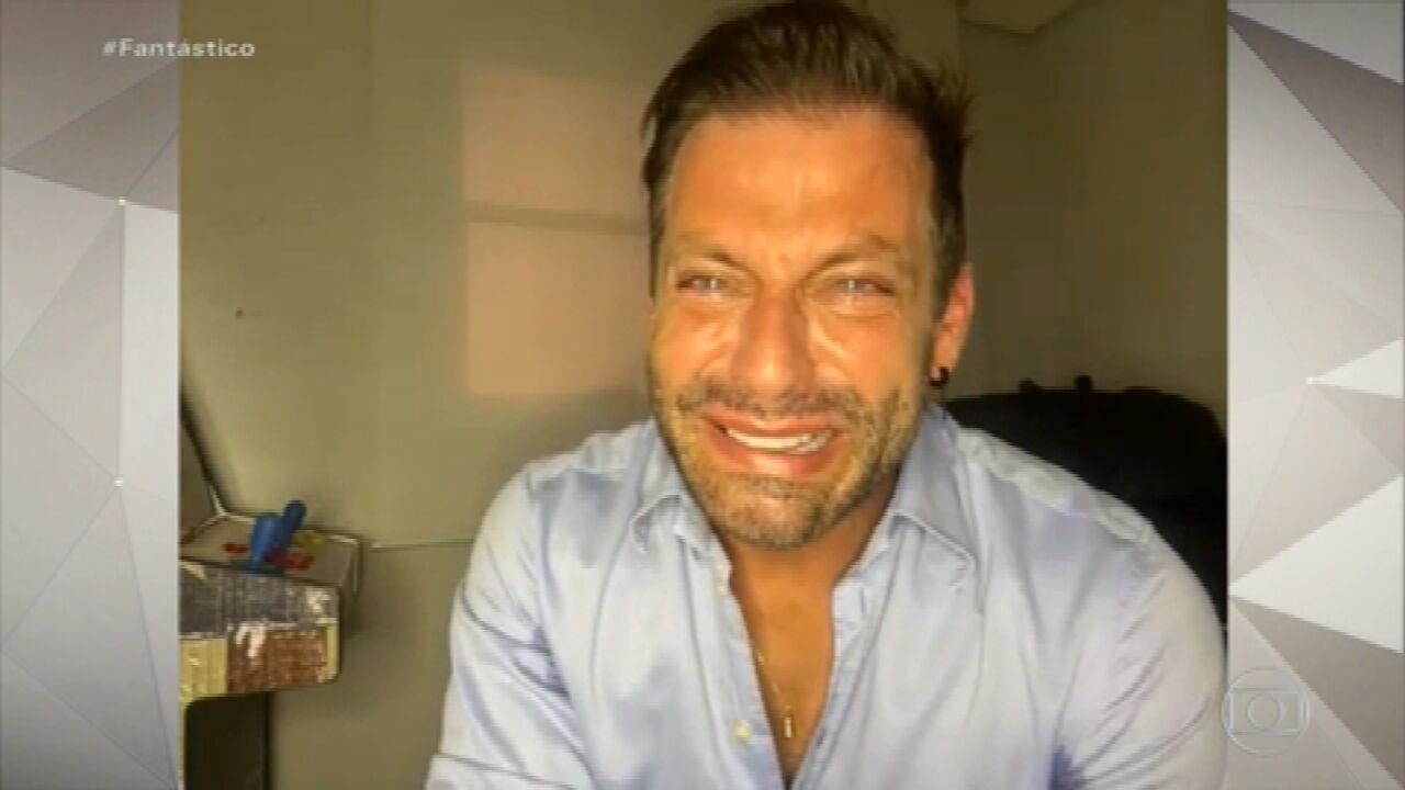 Henri Castelli dá primeira entrevista após agressão: 'Tem risco de eu ter sequela'