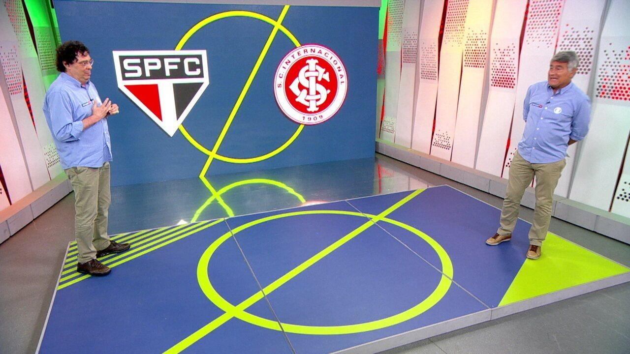 Veja o pós-jogo de São Paulo 1 x 5 Internacional, pela 31ª rodada do Brasileirão