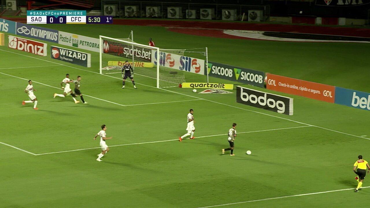 Melhores momentos de São Paulo 1 x 1 Coritiba, pela 32ª rodada do Brasileirão
