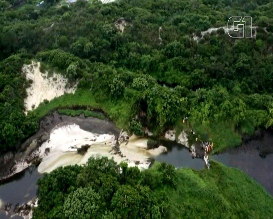 Imagens aéreas mostram estragos da enxurrada na Lagoa da Conceição, em Florianópolis