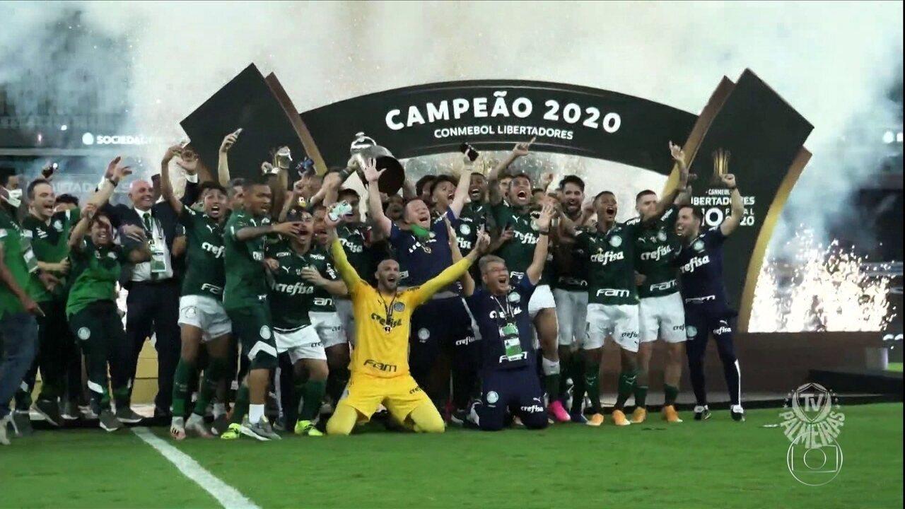 Atual campeão, Palmeiras vai chegar a 200 jogos pela Libertadores