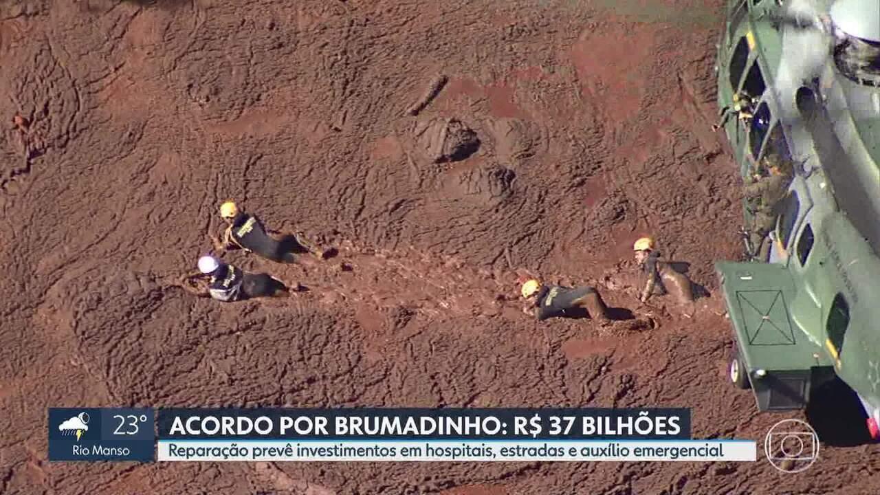 Reparação por Brumadinho: Estado e Vale devem assinar acordo de R$37 bi
