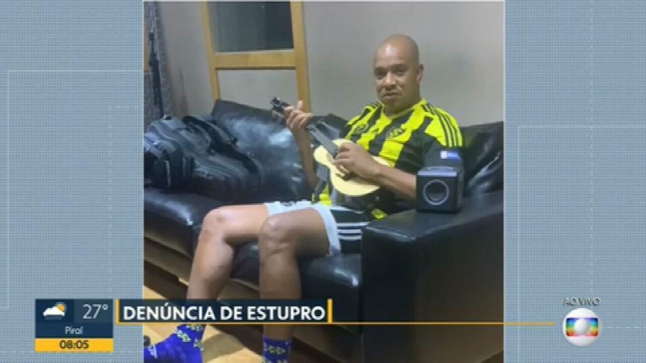 Anderson Leonardo, vocalista do grupo Molejo, tem depoimento nesta sexta (5) sobre estupro