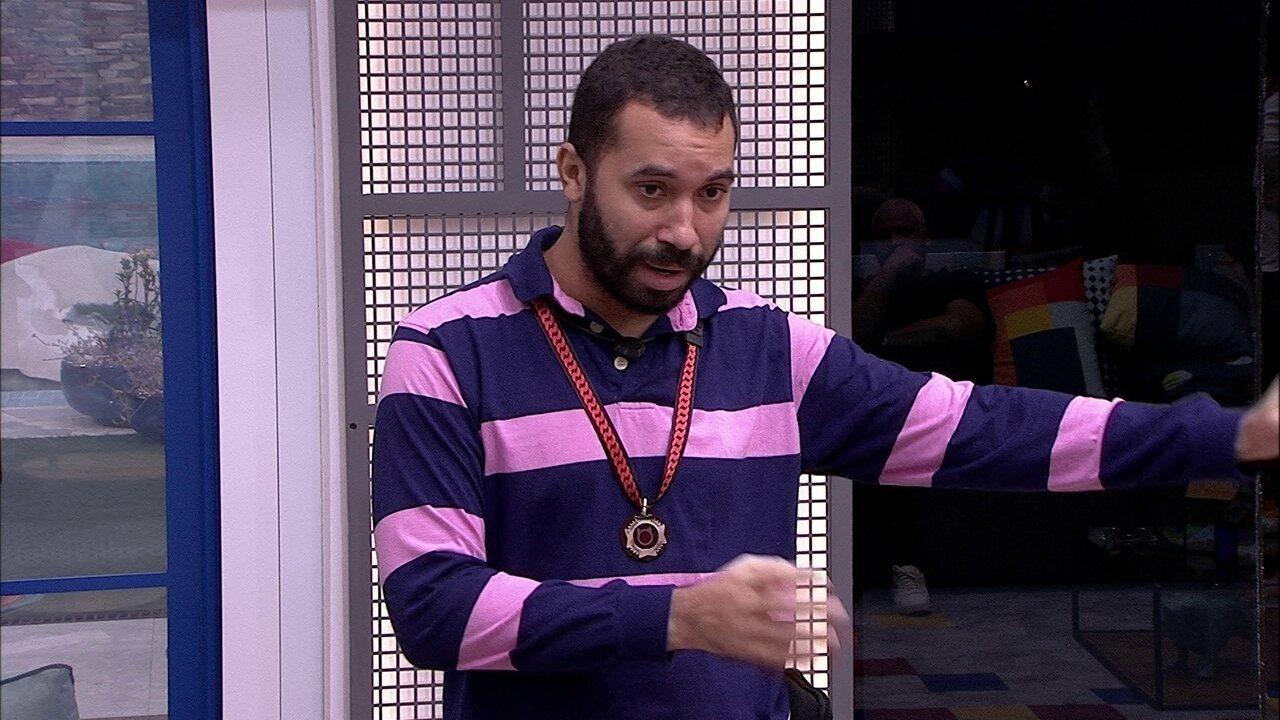 Gilberto sobre Paredão no BBB21: 'Não adianta querer mascarar e querer manipular'