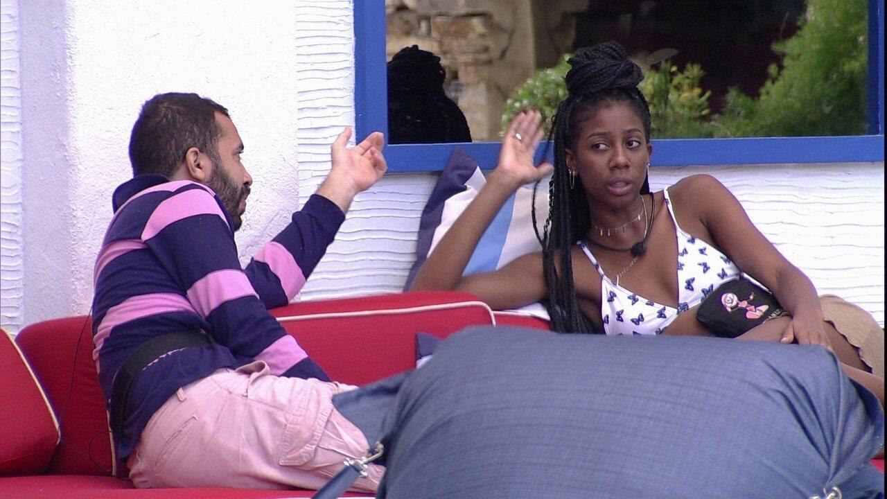 Camilla de Lucas revela mágoa com brother do BBB21: 'Agora meu nome é Maria Aparecida'