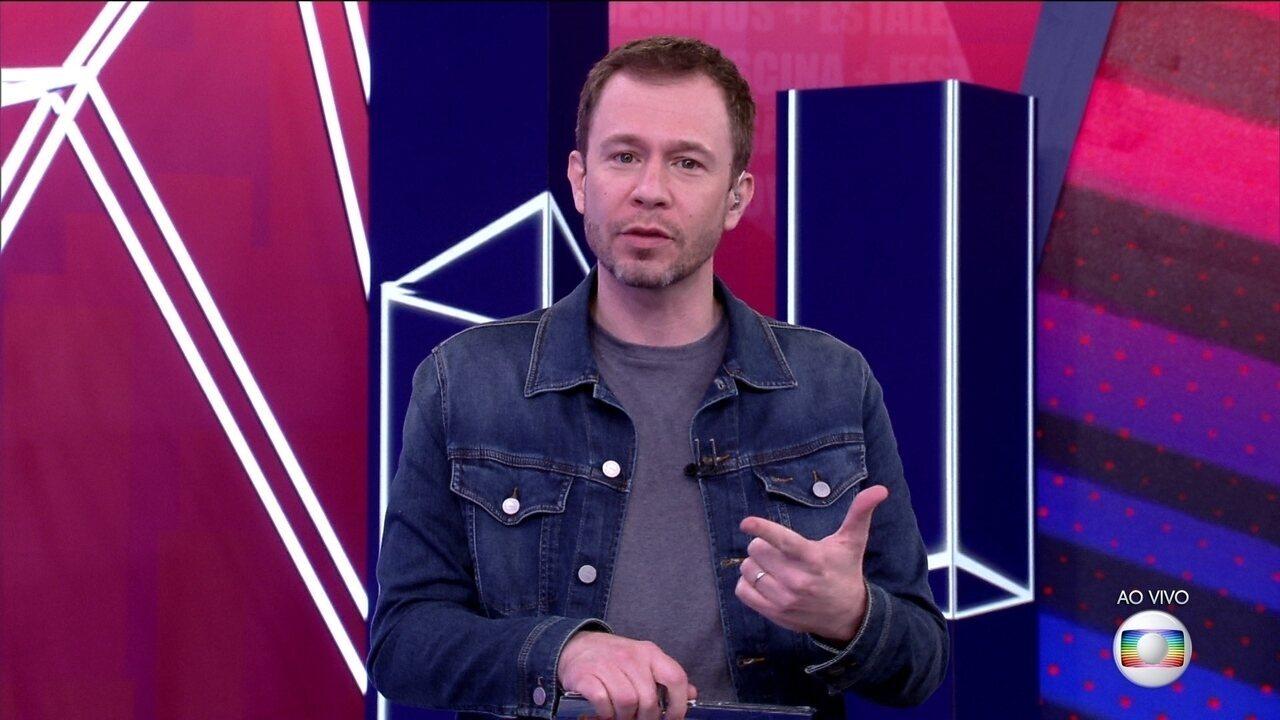 Tiago Leifert explica a dinâmica da terceira semana do BBB21