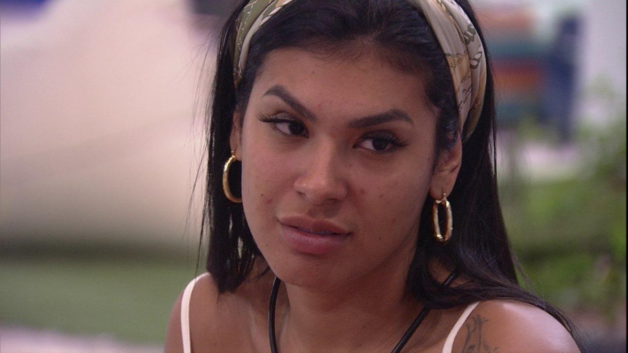 Pocah aconselha Camilla de Lucas no BBB21: 'Mil vezes, dormir'