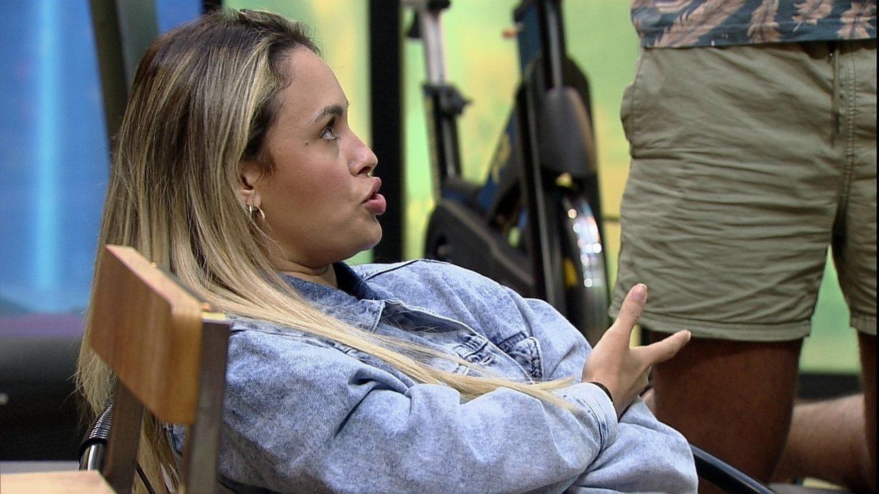 Sarah sobre o terceiro Paredão do BBB21: 'Acho que estou de qualquer maneira'