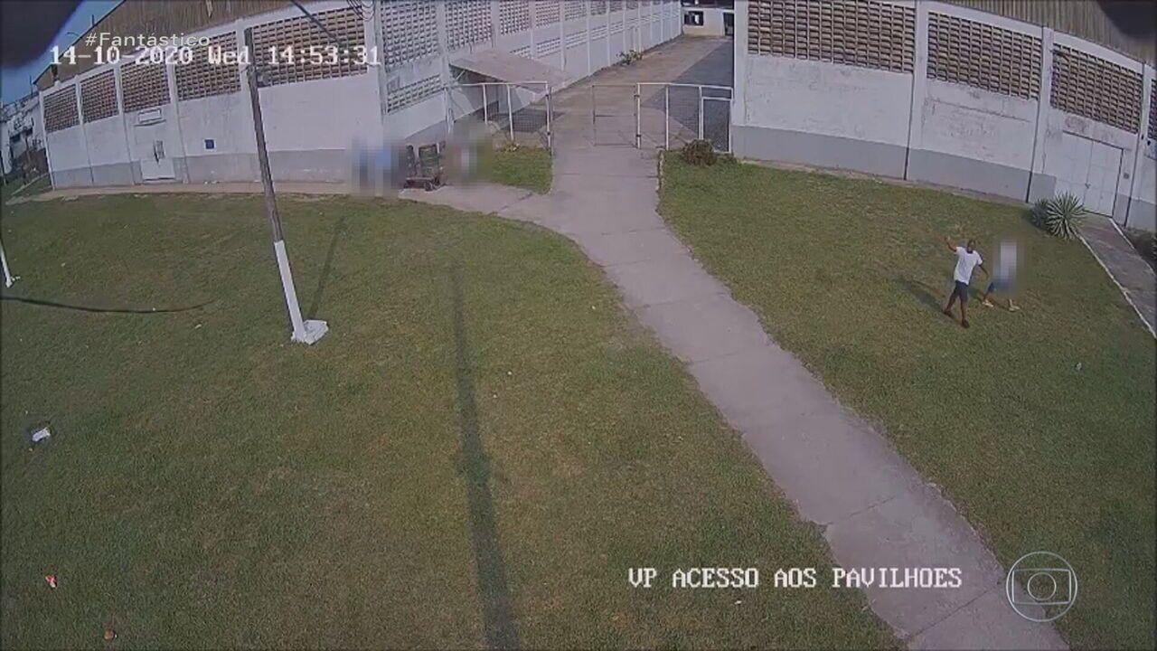 VÍDEO: Traficante de armas sai da cadeia com alvará falso e acena para câmeras; entenda esquema