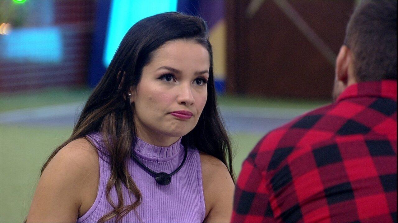 Juliette diz para Arthur no BBB21: 'Você falhou comigo'