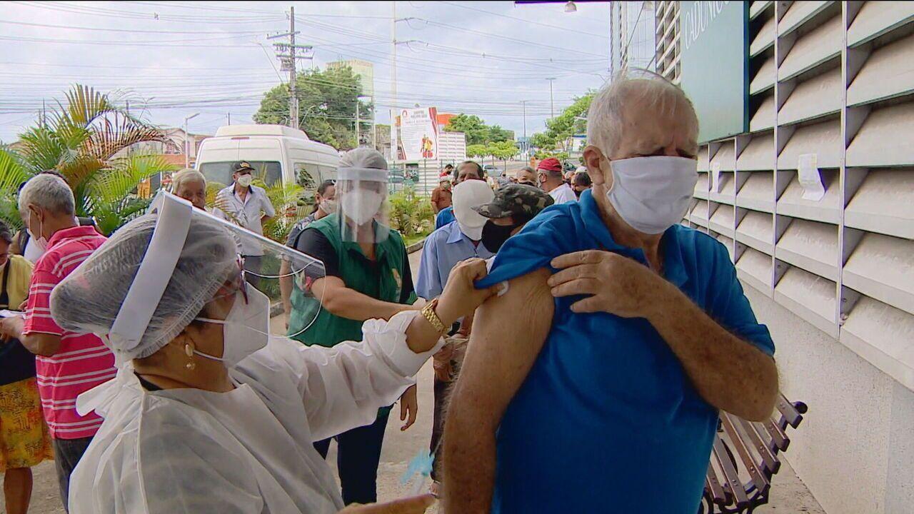 VÍDEO: Veja as cidades que estão com estoques baixos e com vacinação suspensa