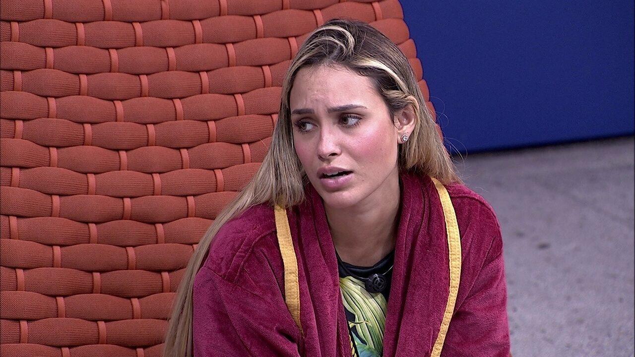 Sarah dá sua opinião sobre Arthur: 'Ele é muito imaturo'
