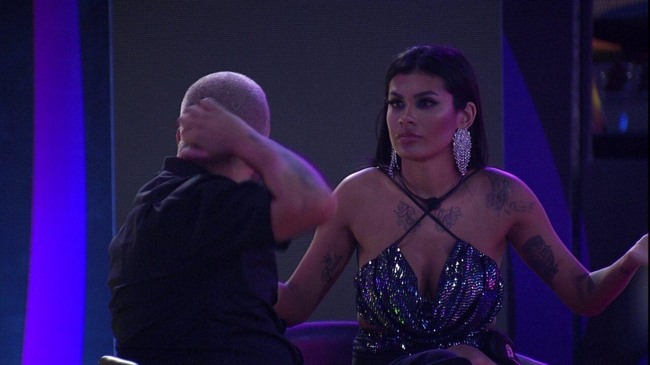 Projota e Pocah avaliam discussão entre Karol Conká e Camilla de Lucas