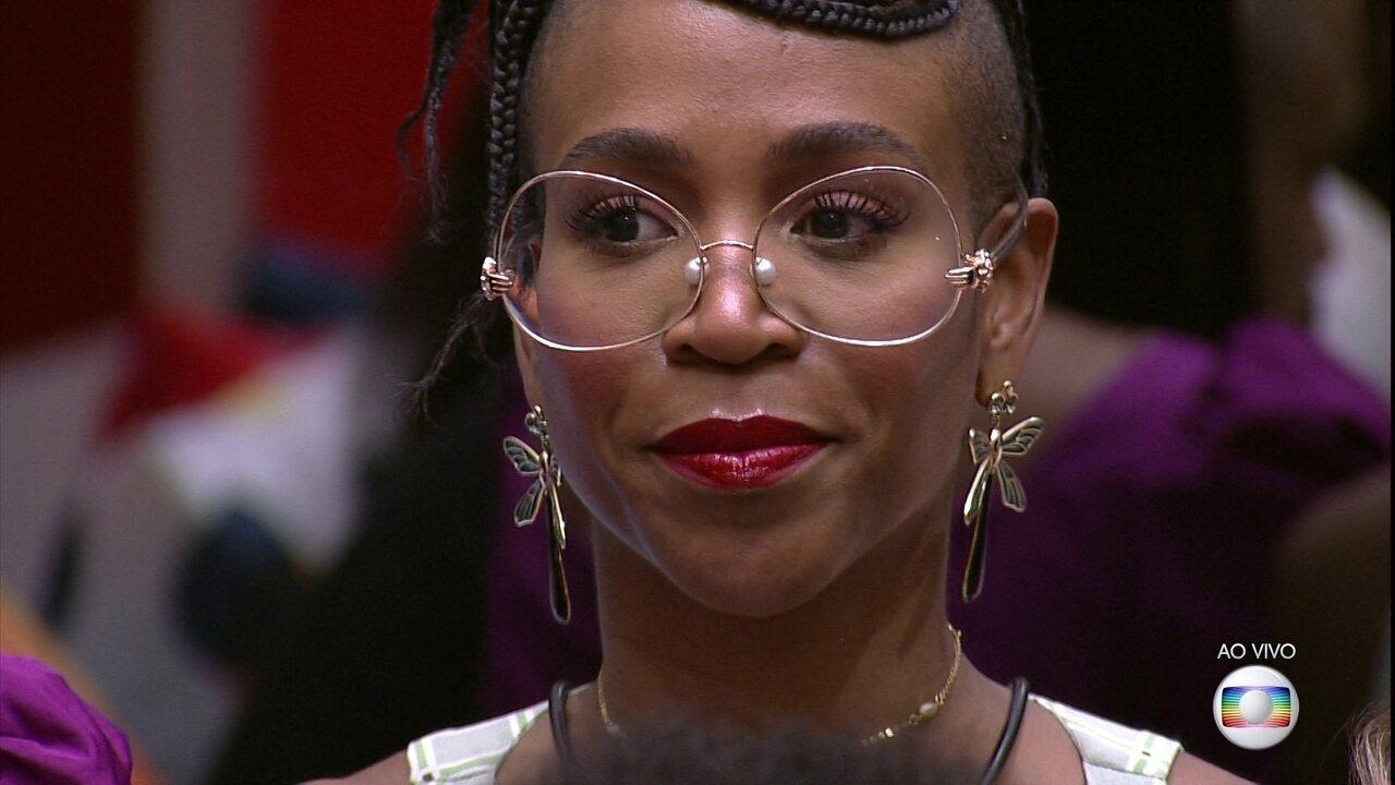 Líder Sarah indica Karol Conká ao Quarto Paredão do BBB21
