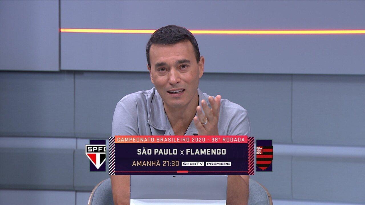 """Andre Rizek: """"Se o Flamengo não for campeão vai ser a maior surpresa da história dos pontos corridos"""""""