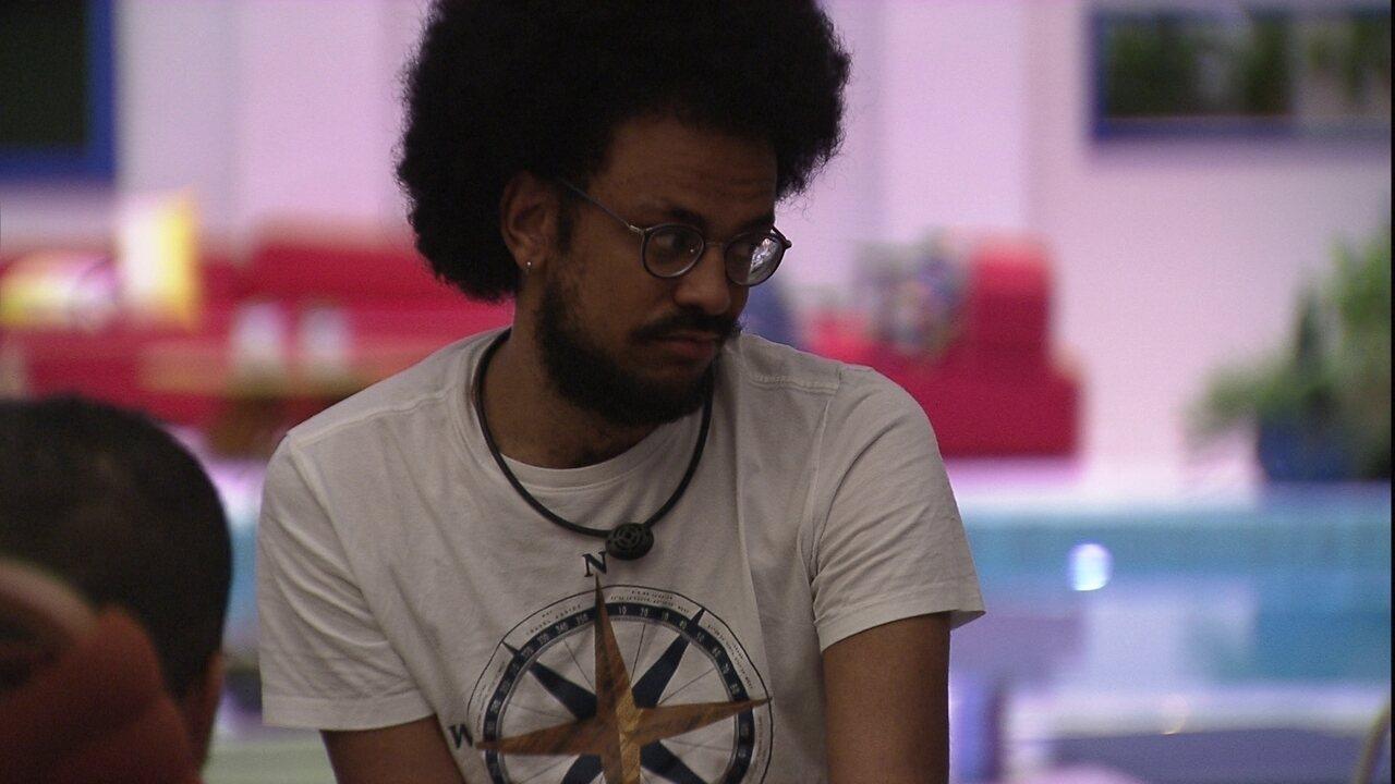 Gilberto analisa o jogo do BBB21 e fala sobre João Luiz: 'Acho que ele é o primeiro foco'