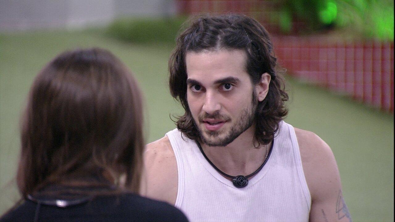 Fiuk revela que tem 'dificuldades' com Carla Diaz no BBB21