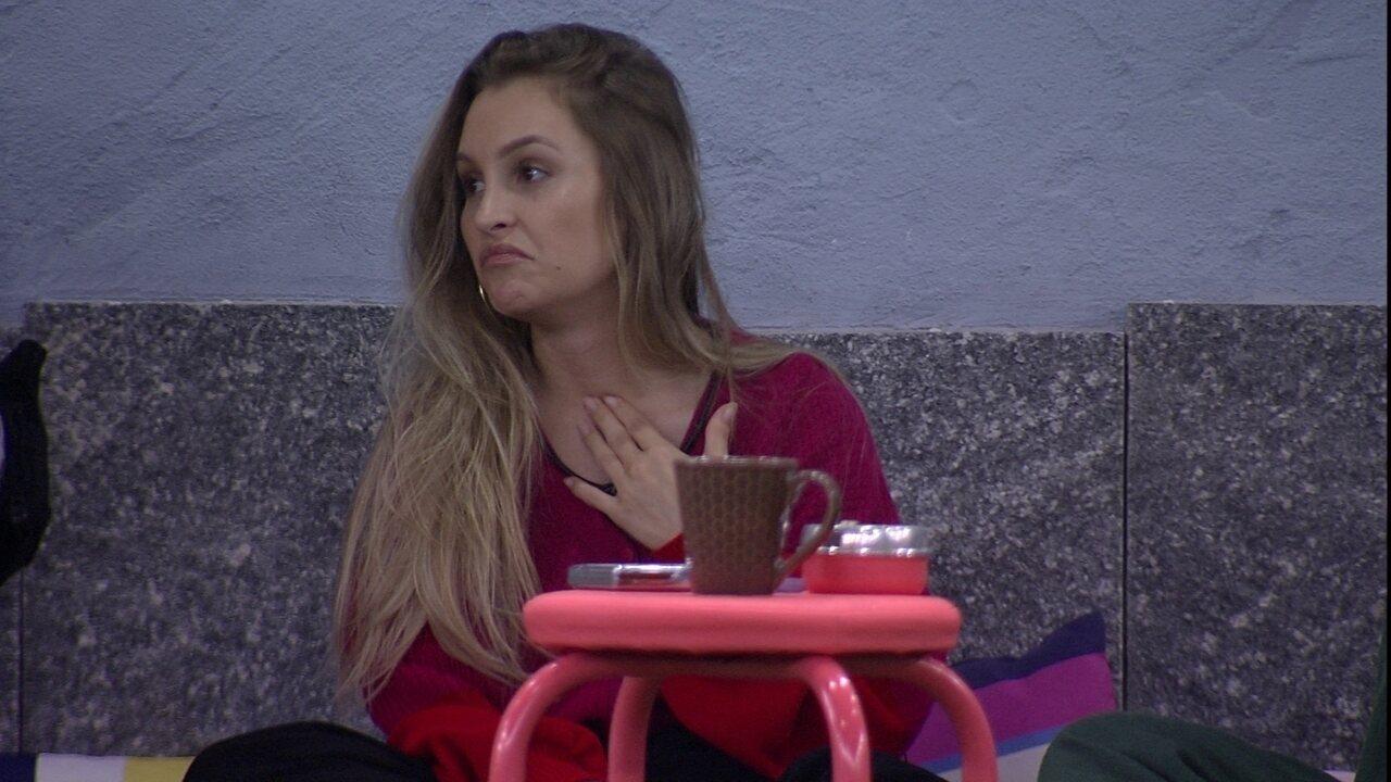 Após atender ao Big Fone do BBB21, Carla Diaz revela: 'Estou com medo de irem em mim agora