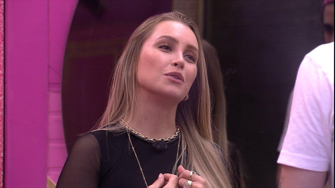Carla Diaz pede desculpas a Fiuk e diz: 'Às vezes eu sou debochada'