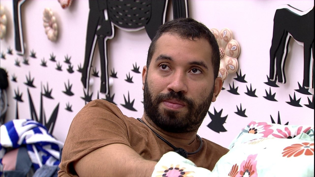 Gilberto sobre brigas antigas no BBB21: ´Meu Deus, eu envolvido na maioria´