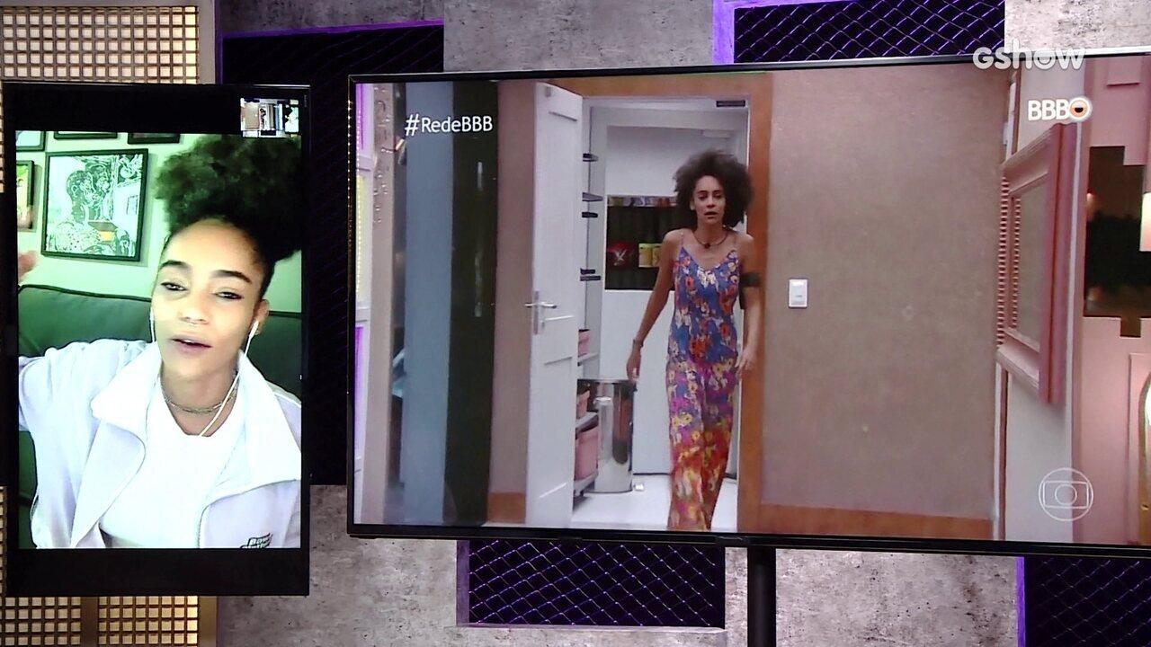 Gabriela, do BBB19, relembra Paredão Falso