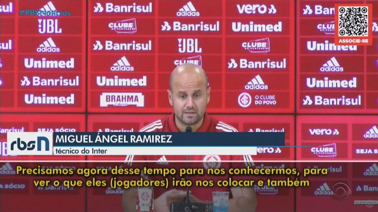 Veja trechos da apresentação de Miguel Ángel Ramírez