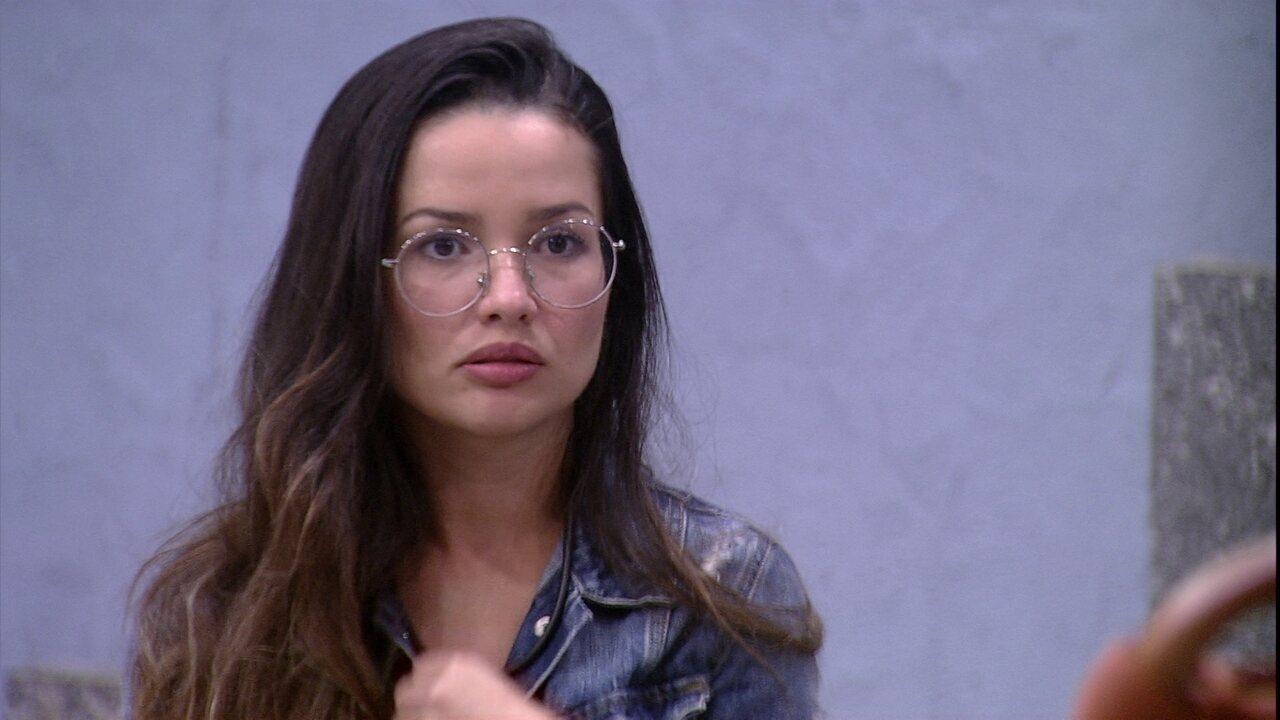 Juliette sobre comportamento no BBB21: 'Me afasto de pessoas assim'