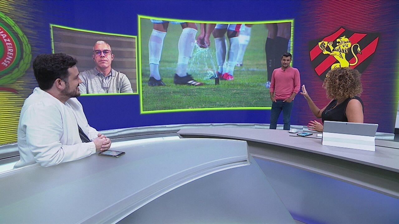 Sandro Meira Ricci analisa as confusões do jogo entre Juazeirense e Sport