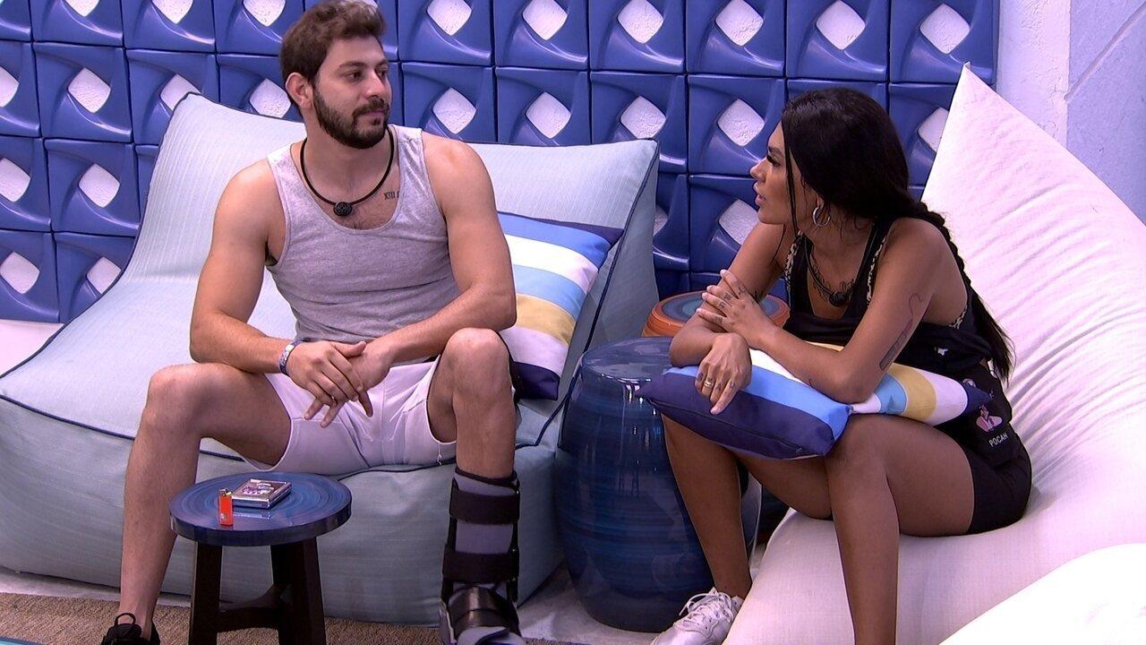 Caio fala sobre Juliette: 'Sinto que é tudo muito de caso pensado'