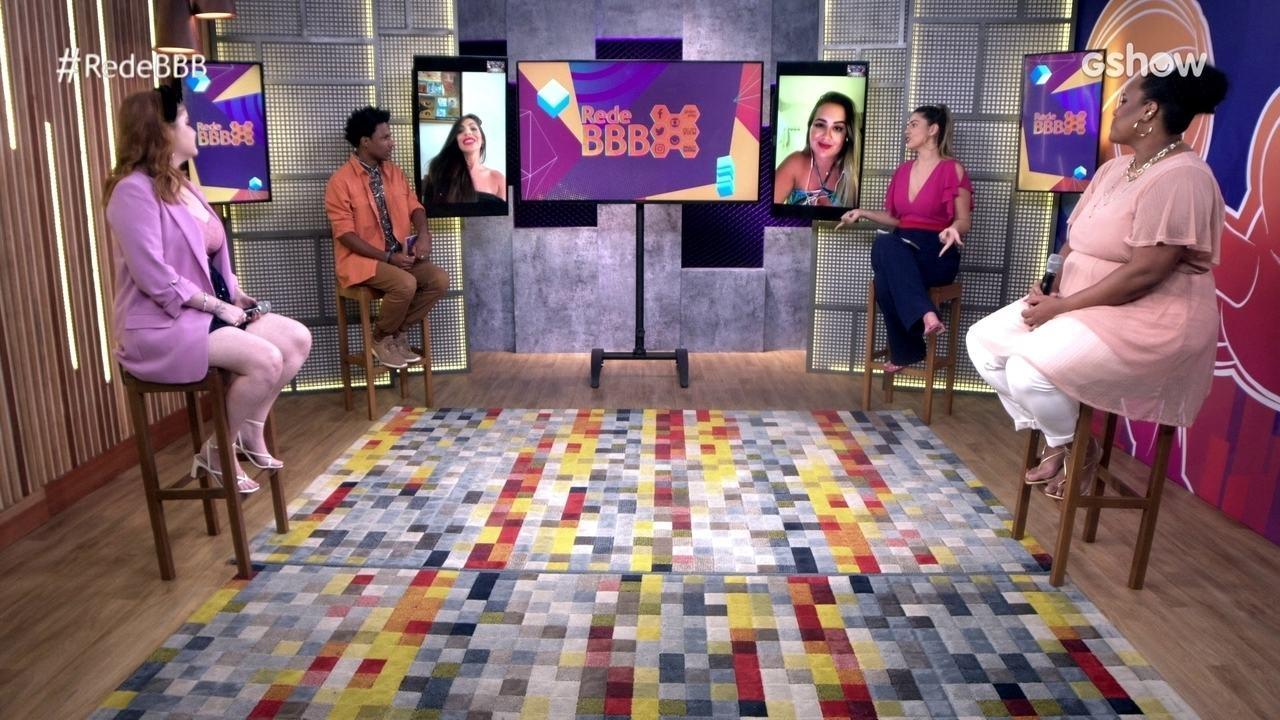 Mesa BBB: Ex-BBBs e influenciadoras digitais comentam retorno de Carla Diaz