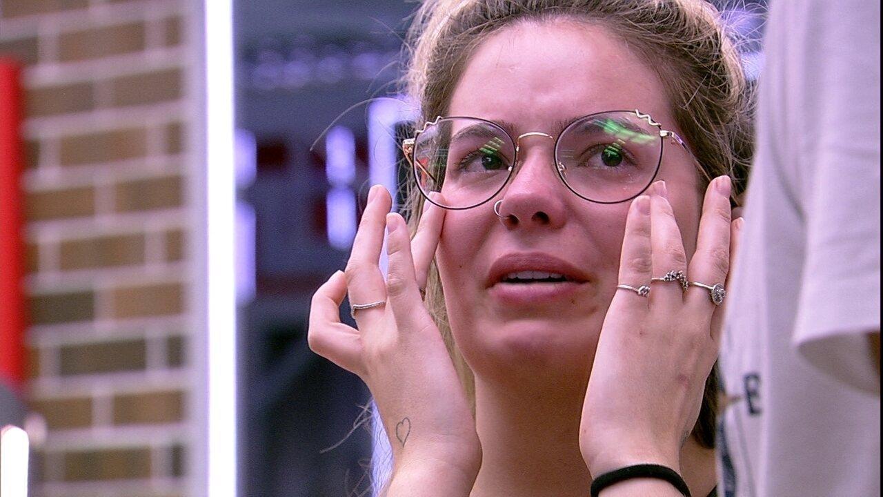Depois de conversar com Carla Diaz, Viih Tube confessa a João Luiz: 'Foi muito bom'
