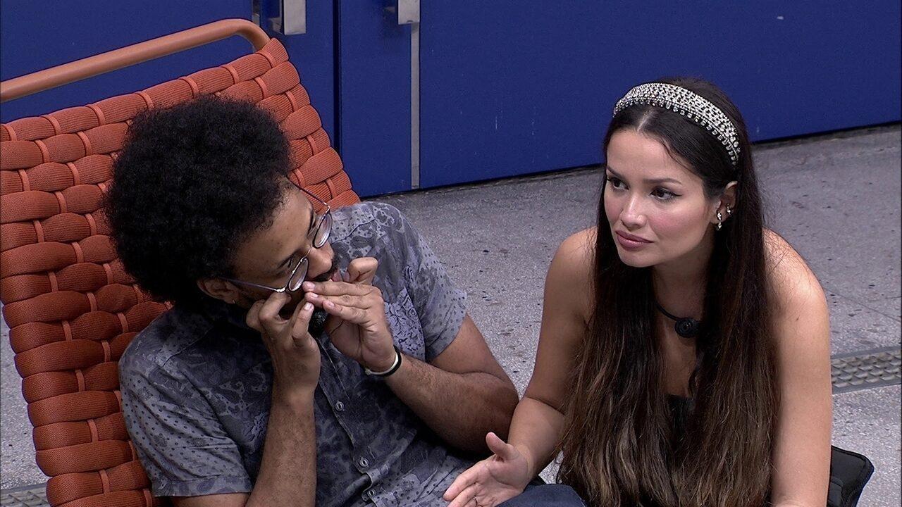 Após eliminação de Projota no BBB21, Juliette comenta: 'Ele subestimou, ele foi bobo'
