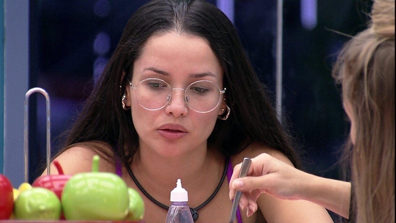 Juliette opina sobre brother para Carla Diaz no: 'Não quer sair do modo defensivo'