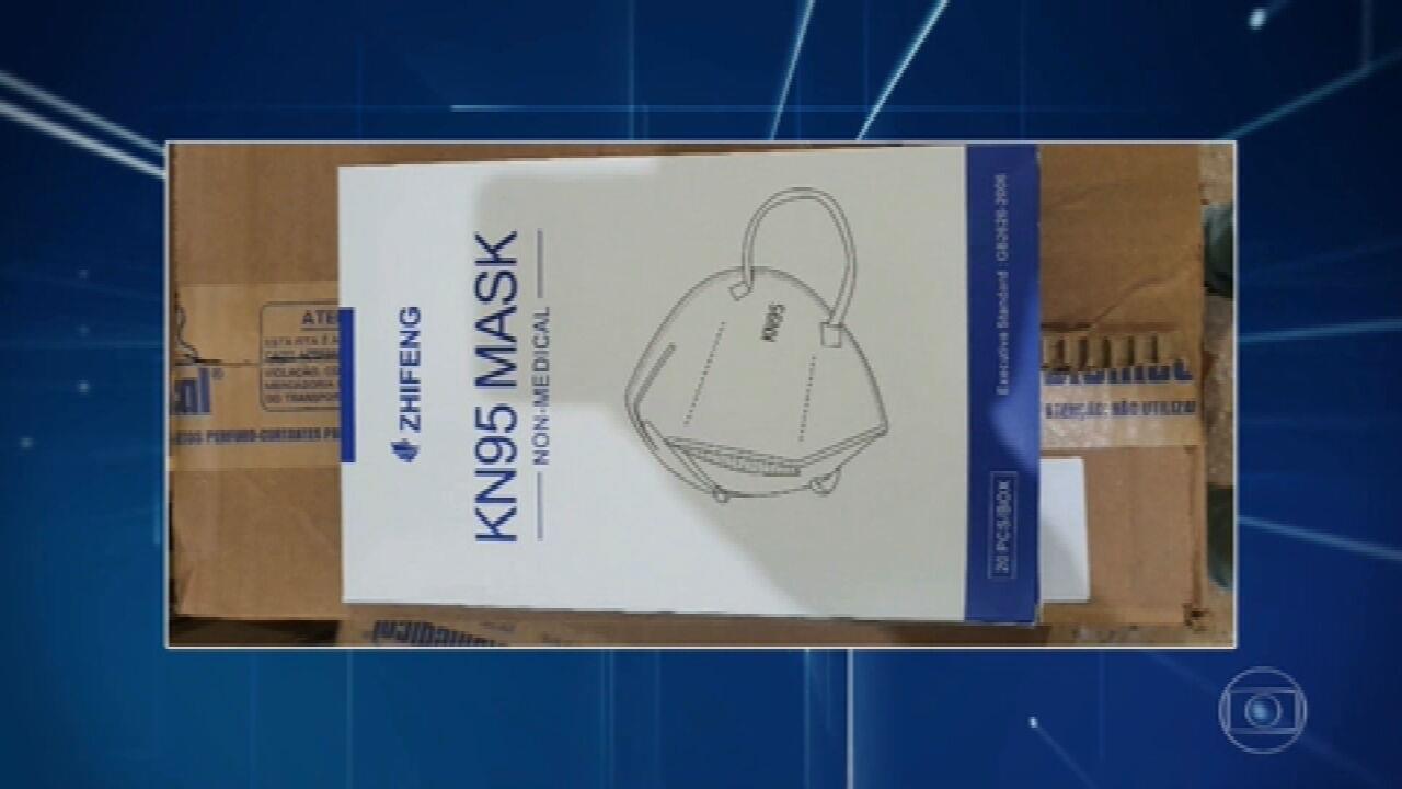 MPF investiga a distribuição de máscaras impróprias do ministério da Saúde para os estados