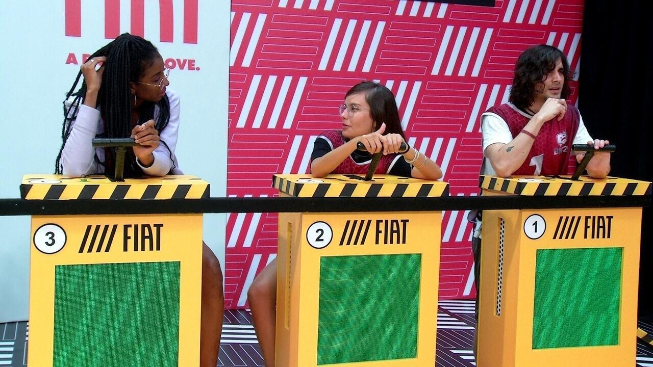 Thaís fala com Camilla de Lucas sobre Paredão: 'Eu não sei se Carla me colocaria'