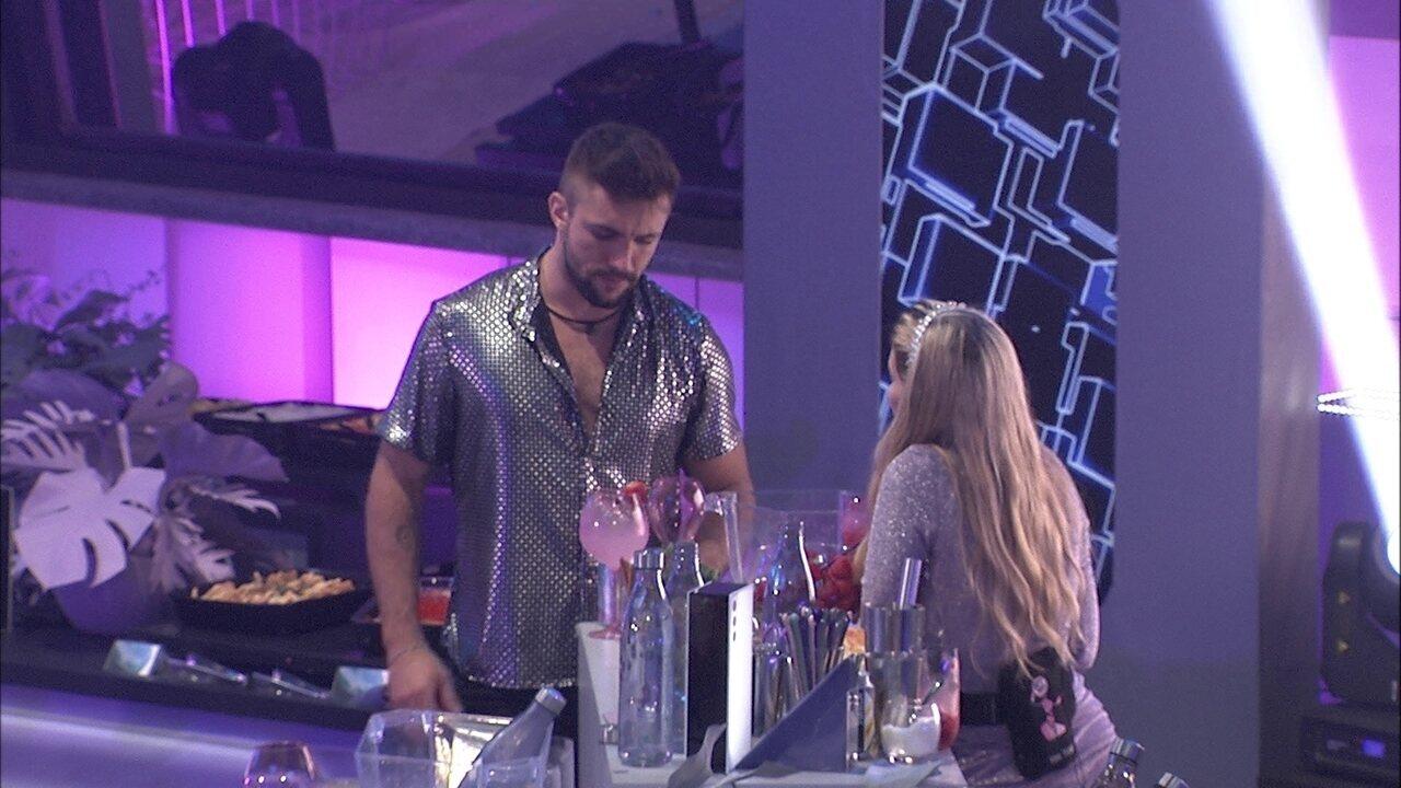 Arthur revela arrependimento após pedir para Gilberto indicá-lo ao Paredão no BBB21