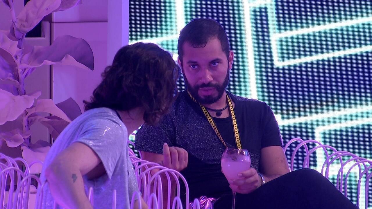 Gilberto diz que vai indicar Arthur para Paredão no BBB21: 'Não tem o que fazer'