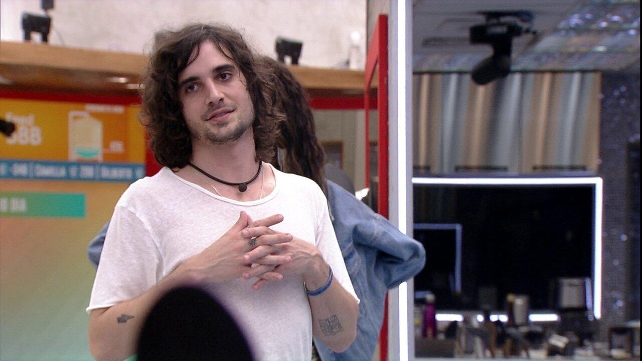 Fiuk fala para Juliette sobre bolo: 'Se quer transformar em discussão, a escolha é sua'