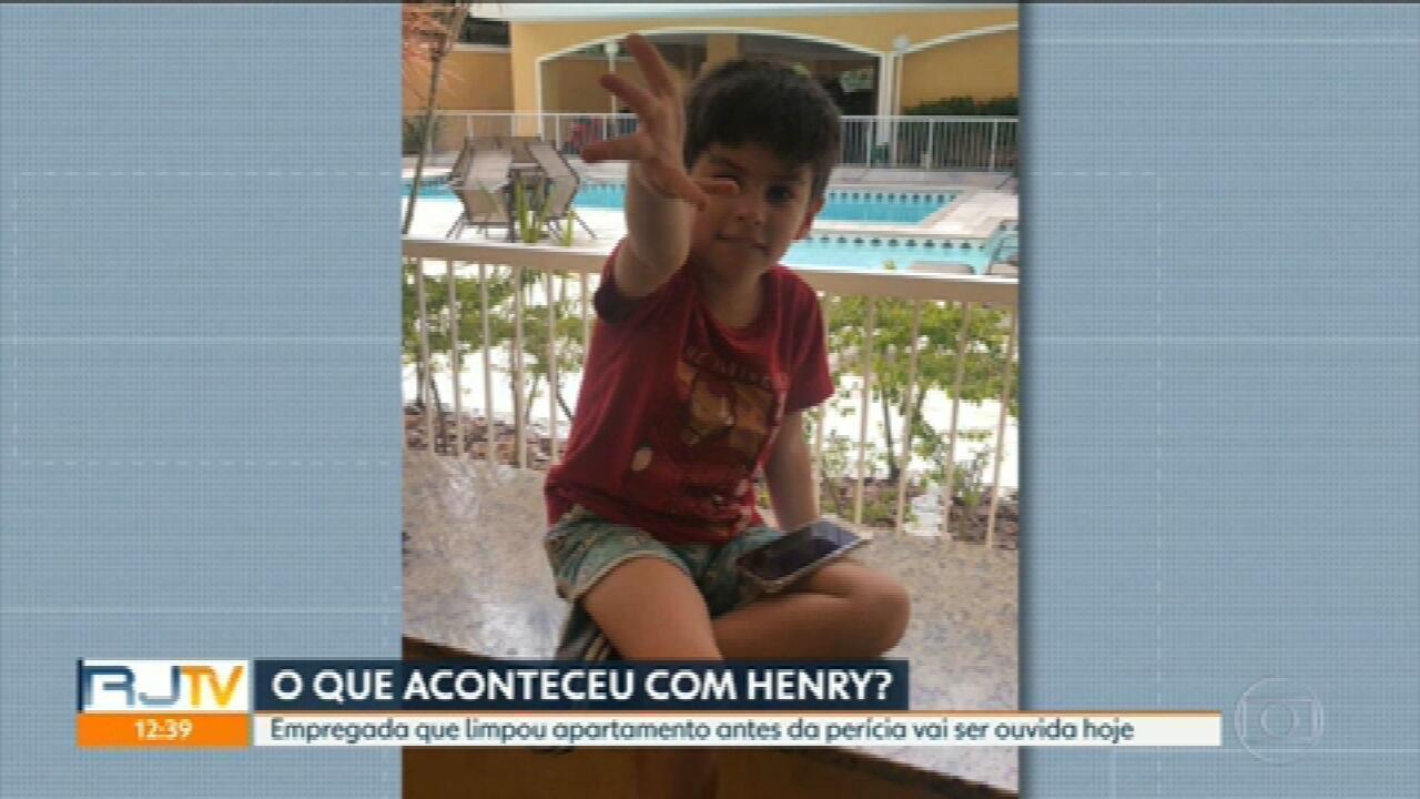 Polícia ouve empregada da mãe do menino Henry nesta terça-feira (23)