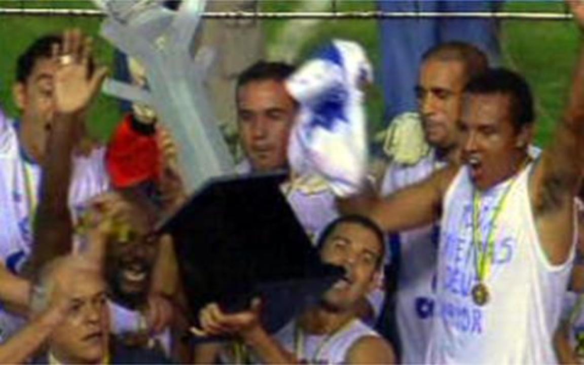 Em 2004, melhores momentos de Flamengo 0 x 2 Santo André, pela final da Copa do Brasil
