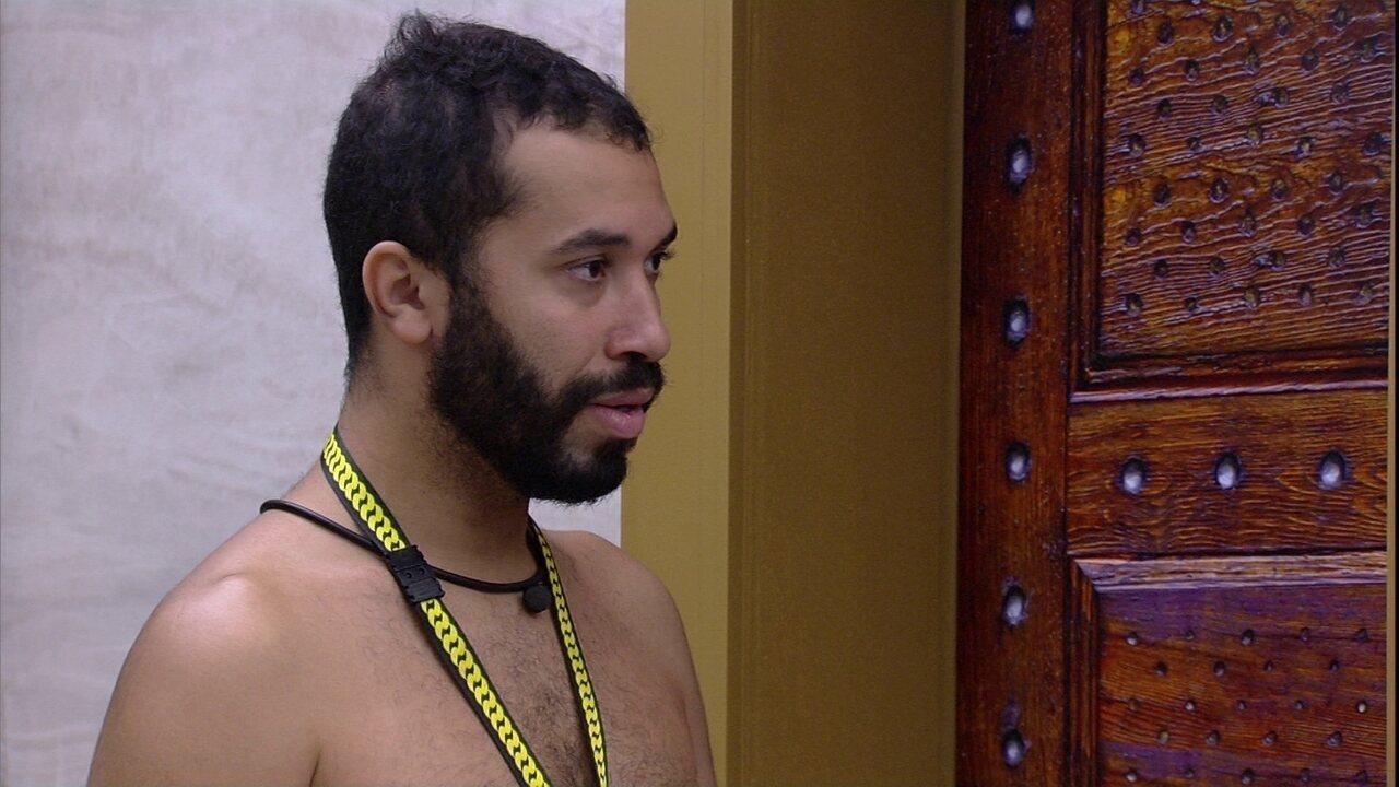 Gilberto dispara sobre Prova do Líder do BBB21: 'Vetarei ele sabendo das consequências'