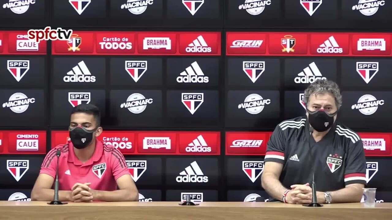Relembre a entrevista de Bruno Rodrigues na apresentação