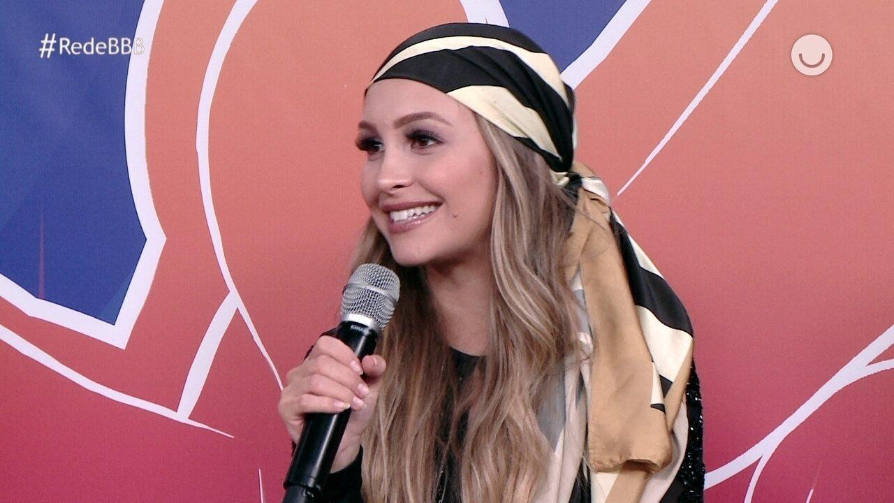 Na Mesa BBB, Carla Diaz revela quem ela quer na final do BBB21: 'Camilla, Juliette e Pocah'